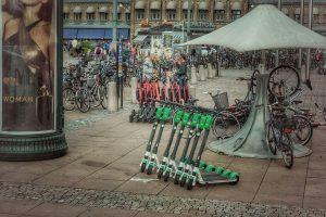 elektrische step in Berlijn huren